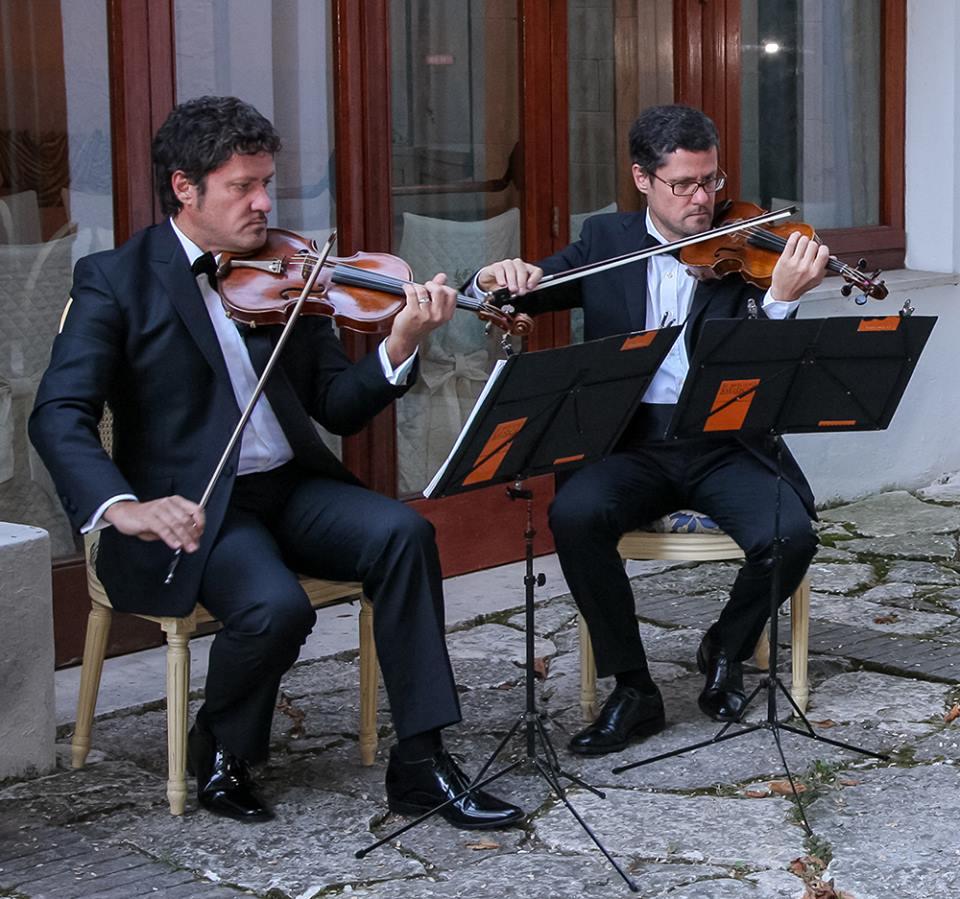 Italian Bands: String Quartet Wedding Rome, Italy, Tuscany